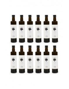 12 botellas de Aceite de Oliva Virgen Extra Ecológico 100%