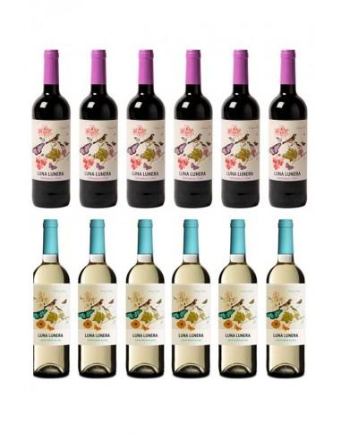 6 Sauvignon Blanc + 6 Tempranillo-syrah